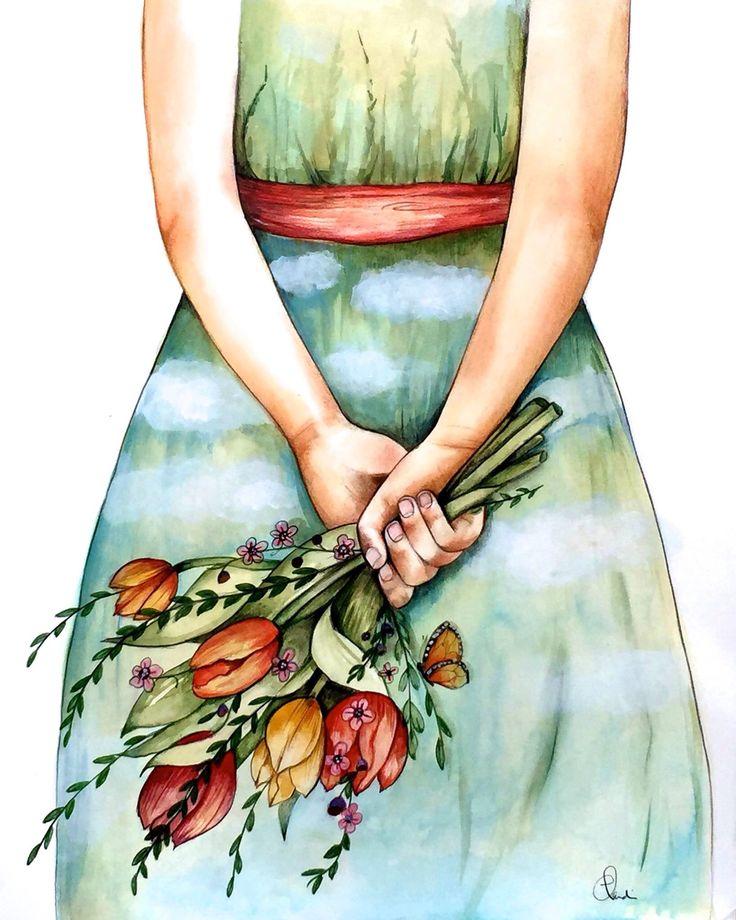 Claudia Tremblay girly spring