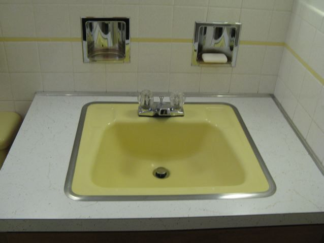 Shop at Overstock to buy a yellow bathroom sink for sale. A cute unit looks  like a bright sunflower.