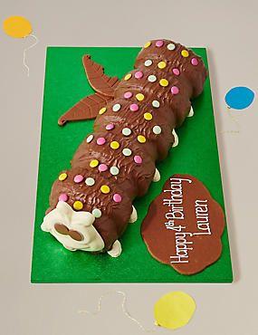 Giant Colin the Caterpillar Cake
