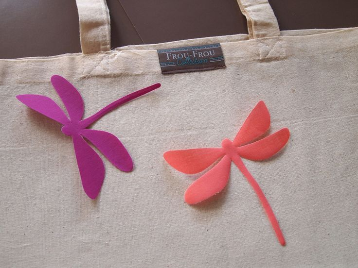 Thermocollants Frou-Frou : formes créatives oiseau, libellule, ailes, bicyclette...