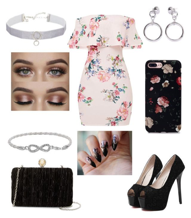 """""""Cute floral"""" by fashionstyleideas4now on Polyvore featuring WithChic, Jessica McClintock, Rebecca Minkoff, Ana Accessories and Malin + Mila"""