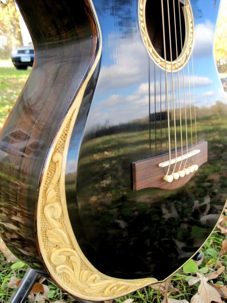 Anyone up for seeing another carved guitar? - The Acoustic Guitar Forum