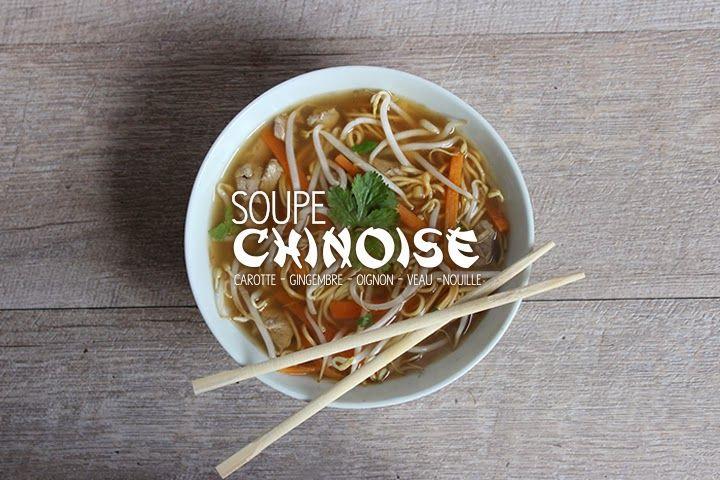 Blog Cuisine & DIY Bordeaux - Bonjour Darling - Anne-Laure: Soupe chinoise gourmande