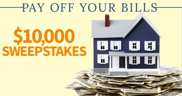 BHG Pay Off Your Bills $10,000 Sweepstakes 2016 (BHG.com/WinBills)