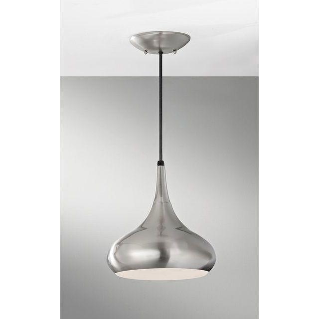 Effie Pendant in Steel 1