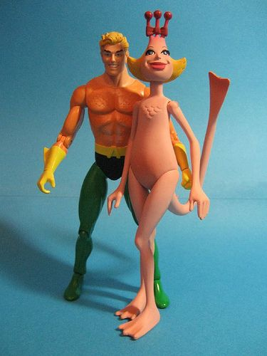 Aquaman and Mrs. Sea Monkey