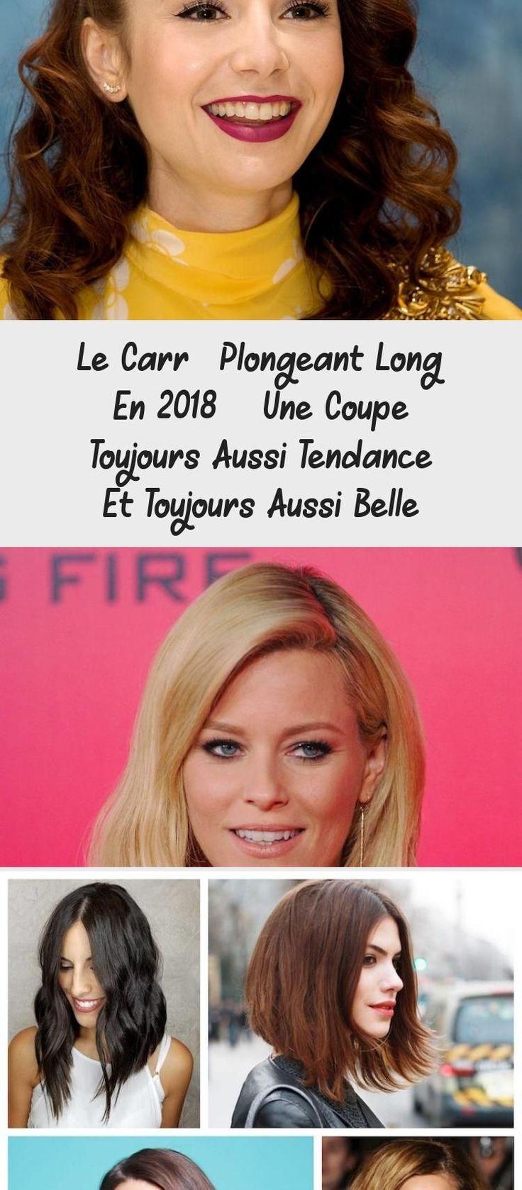 Le Carré Plongeant Long En 2018 - Une Coupe Toujours Aussi Tendance Et Toujours Aussi Belle ...