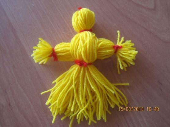 Кукла— Мартиничка и Масленица. Поделки. - Для воспитателей детских садов - Маам.ру