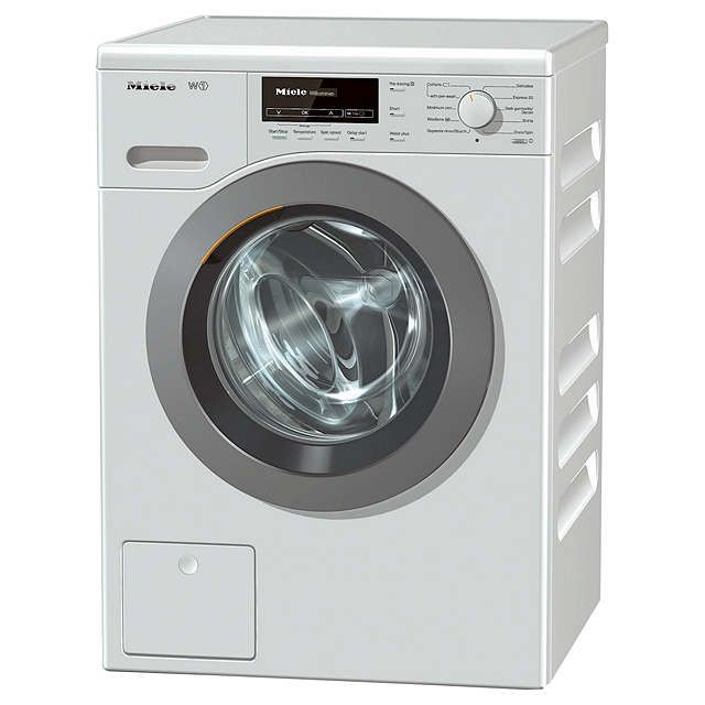 BuyMiele WKB120 Freestanding Washing Machine, 8kg Load, A+++ Energy Rating, 1600rpm Spin, White Online at johnlewis.com