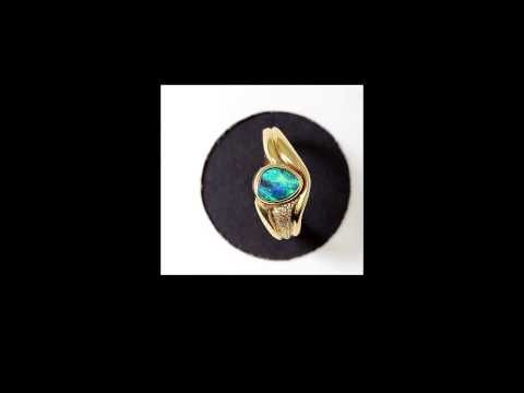 "Genuine opal jewelry 5415 ""Genuine opal jewelry"" Why should it be necessary to put the word - YouTube"