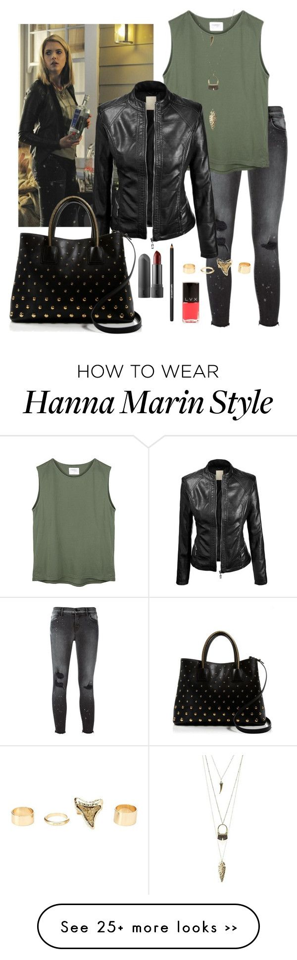 """Hannah Marin - Pretty Little Liars S5E7"" by fulltimeoverthinker on Polyvore"