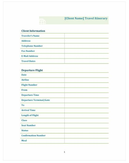 9 best Trip Itinerary template images on Pinterest My family - weekly itinerary template