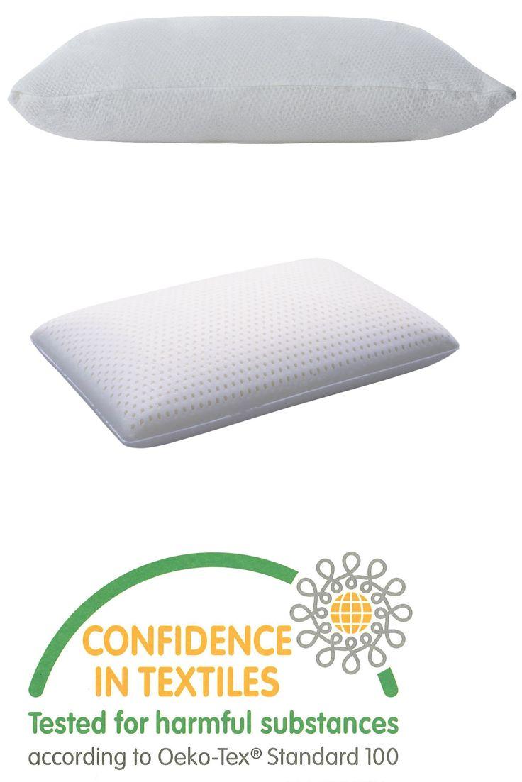 bed pillows natural talalay latex foam pillow medium density queen size