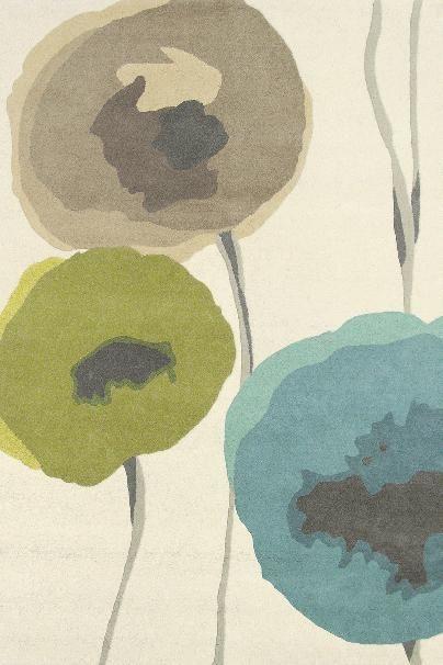 Karpet Sanderson Poppies 45701
