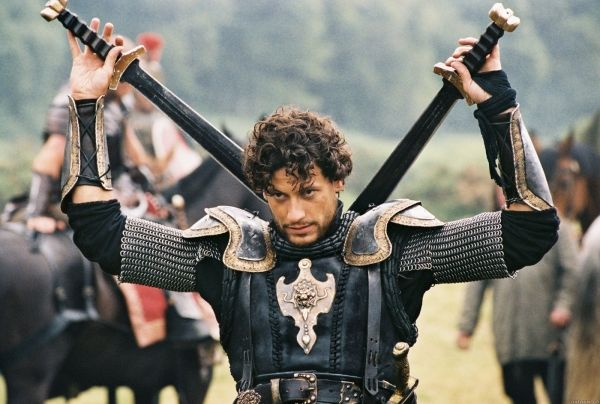 "Ioan Gryffudd as Lancelot in ""King Arthur"""