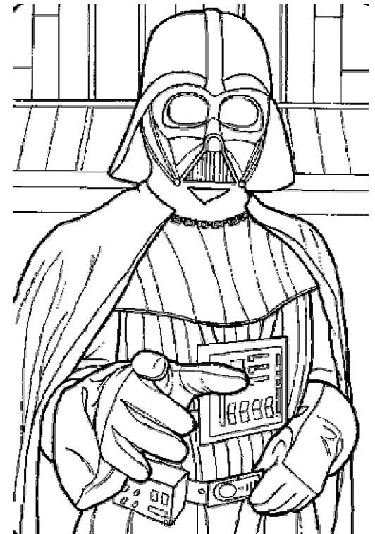 Printable Darth Vader Star Wars Coloring Pages Star Wars