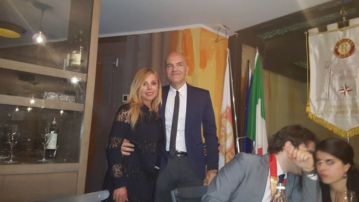 Marco Eugenio Di Giandomenico and Marisela Morales  (General consul of Mexico in Milan) (Milan, May 12, 2017)