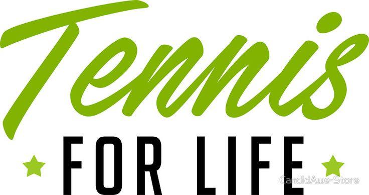 Tennis For Life - - WTA Grand Slam Wimbledon Australian Open - Tennis Fan Tennis Player Gift by CandidAwe-Store