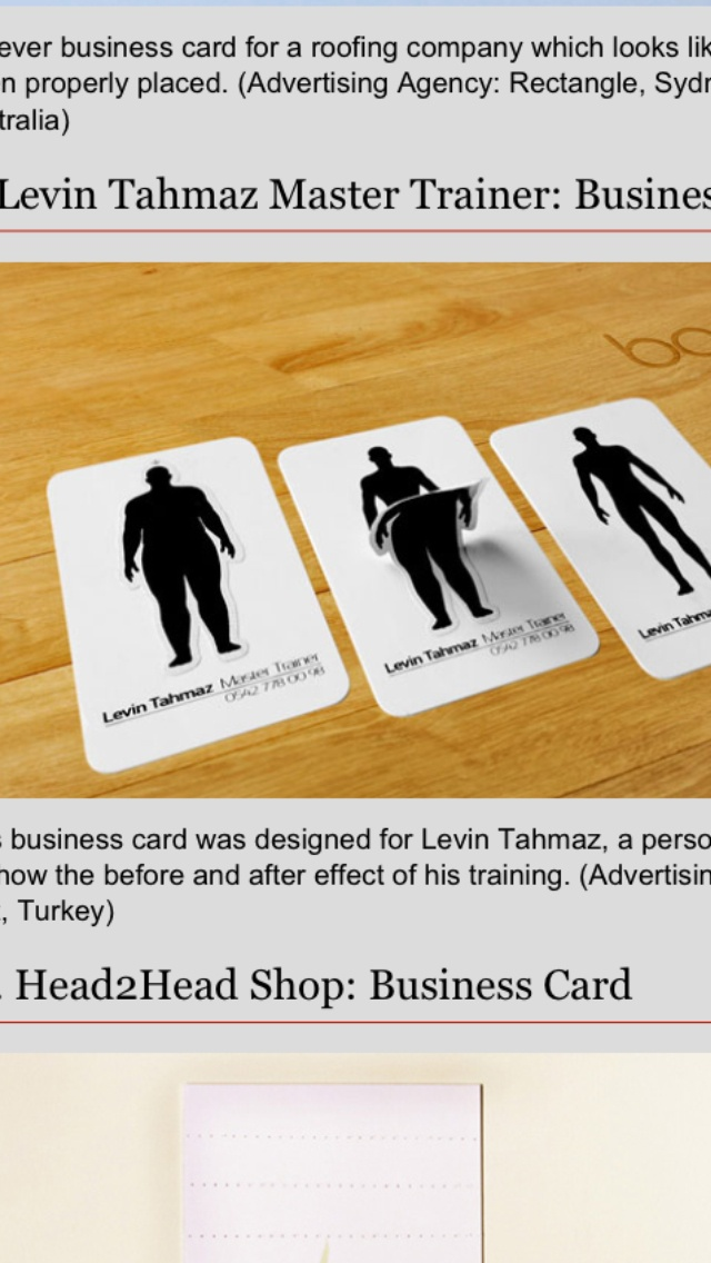 8 best Creative business card ideas images on Pinterest | Business ...