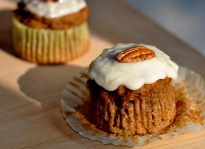 Recette sans gluten: muffins à la citrouille ou au potiron