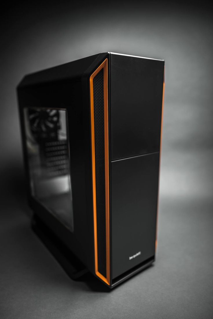 Be Quiet Silent Base 800 case with window