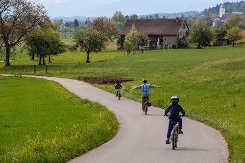 Moms:Tots:Zurich: 10 Safe Places to Bike with Kids in Switzerland