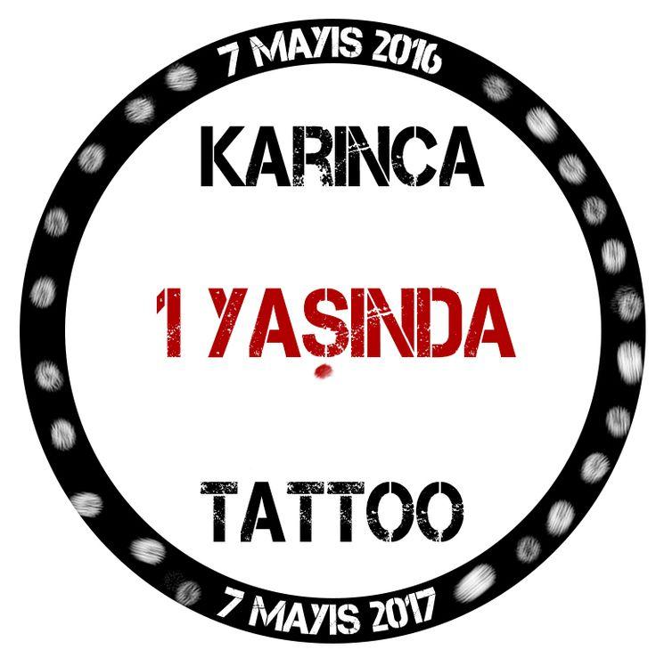 Karınca Tattoo 1 yaşında!  / Karınca Tattoo is 1 year old! #karinca #tattoo #karıncatattoo #tattoostudio #dövmestüdyosu