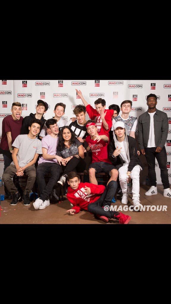 NEW MAGCON IS LIT BUT.... I LIKE BETTER THE OLD ONE❤️- Ashley N.