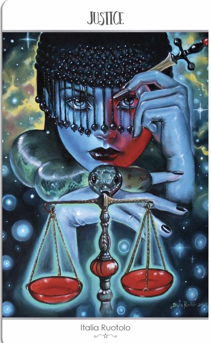 Card of the day justice sunday april 16 2017 tarot