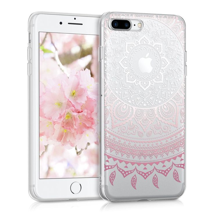 Kwmobile Crystal Case Cover For Apple Iphone 7 Plus 8 Plus Imd Design And Tpu Silicone Frame With Synthetic Back Transpar Iphone Iphone 7 Plus Apple Iphone