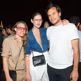 Courtney Crangi, Jenna Lyons, Pietro Quaglia at HERE COMES SUMMER BY UNEMPLOYED : AT THE ROOF
