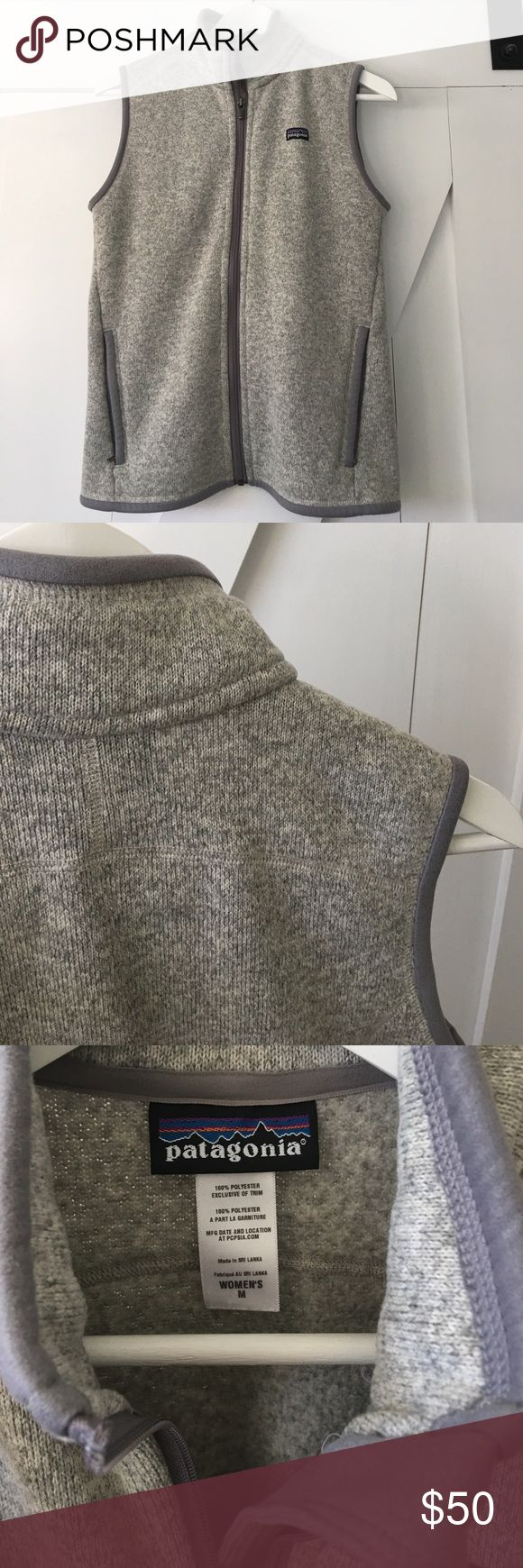 Patagonia Better Sweater Vest Practically new. Perfect condition. Patagonia Jackets & Coats Vests