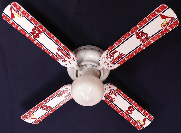 MLB St  Louis Cardinals Baseball Ceiling Fan 42. Best 25  Baseball ceiling fan ideas on Pinterest   Kids sports