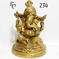 Brass Ganesh Statues 04