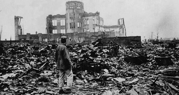 "Hear from Tsutomu Yamaguchi, the survivor (""hibakuisha"") who endured the Hiroshima blast only to flee home to Nagasaki, where he survived that bombing too."