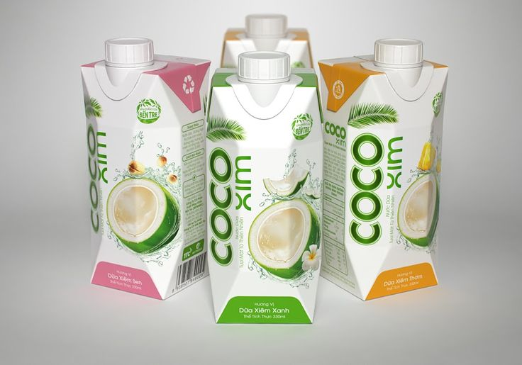 CocoXim Coconut Water on Packaging of the World - Creative Package Design Gallery