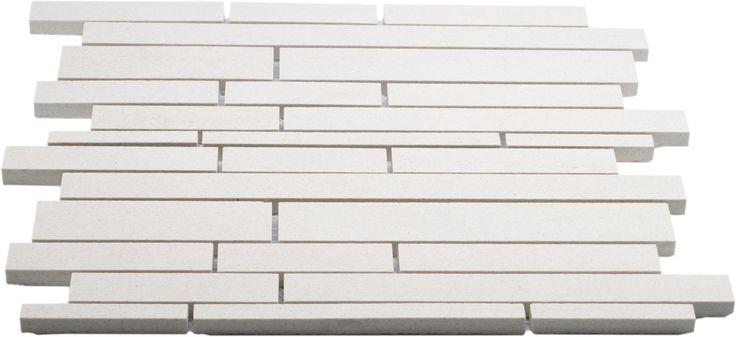 Vegro tiles sandstone mosaikk stick fra MegaFlis