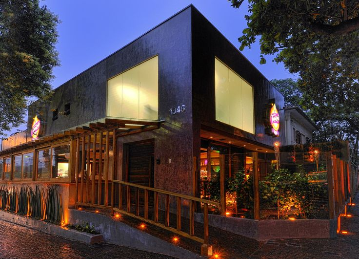 Fachada rustica de restaurante pesquisa google bares - Fachadas de bares modernos ...