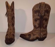 Masterson Boot Co. Rockin' Country Collection Women's Cowboy Boots Size 8M
