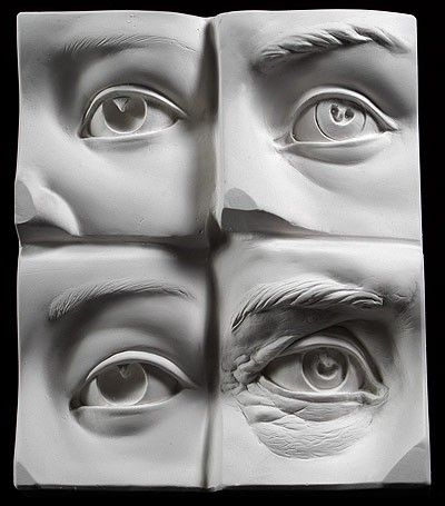 eyes sculpt, light trick