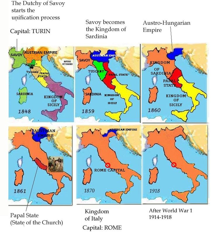 a history of the unification of italy Sicilian history is full of many interesting events and personalities over the past many centuries and millennia, going back to the deeds of the sikanian king.