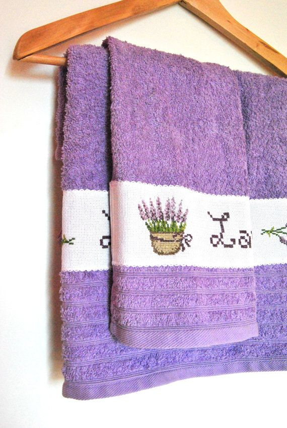 decorative bath towels purple. Bath Towels, Lavender Embroidered Lilac Towels Spa Decorative Purple