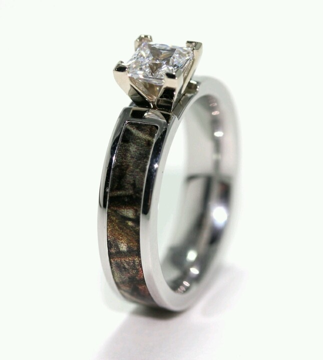 Perfect Camo Engagement Wedding Ring Not Sure How I Feel About The But