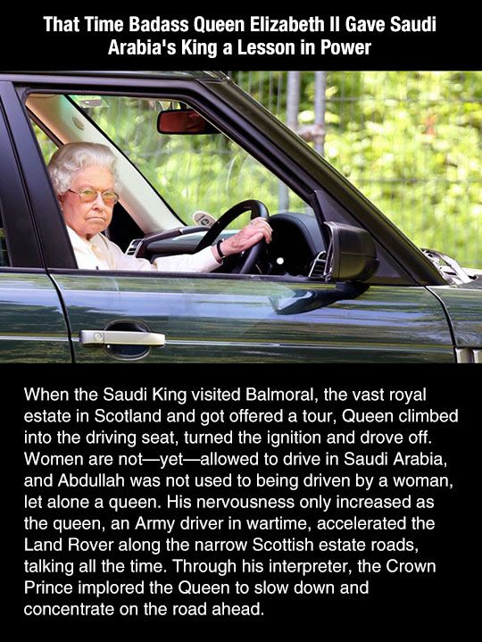 This is why she has surpassed so many rulers, she kills them with her awesomeness and bad assery