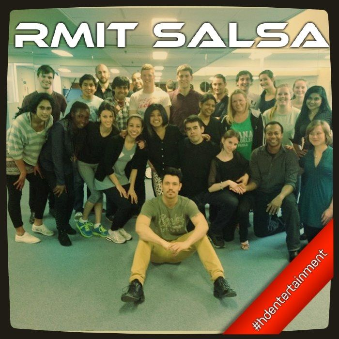 RMIT Salsa class.  Melbourne Dance, Salsa & Argentine Tango.  Www.hd-entertainment.com.au