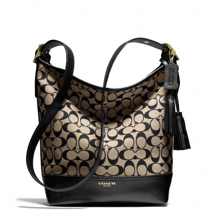 The Legacy Duffle In Printed Signature Fabric from Coach