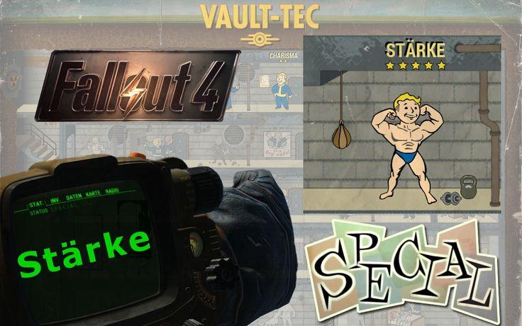 FALLOUT 4 ►SPECIAL◄ Perksystem Stärke™ ≡ Fallout 4 Tipps & Tutorial Deutsch