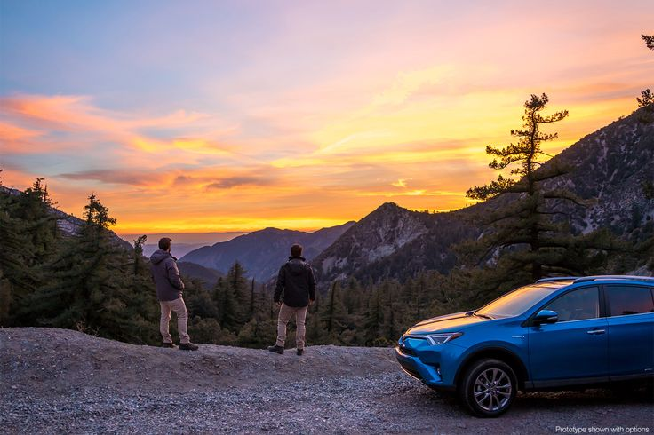 These guys have made a lifestyle out of exploring the unknown. So we loaned the Vaga Brothers the all-new #RAV4Hybrid to uncover the beauty that's hiding right behind L.A. in the San Gabriel Mountains. It looks like they found plenty of it.