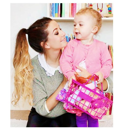 Zoella and Baby Glitter! Louise should be proud! Love them all!