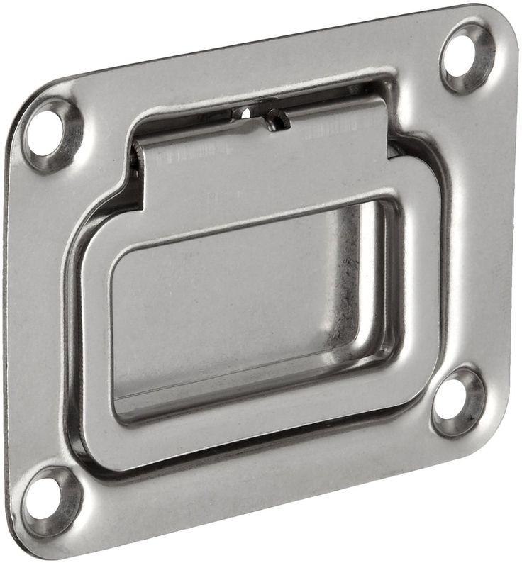 Monroe Stainless Steel 304 Recessed Pull Handle Spring